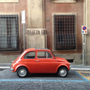 Old Fiat 500 car - Free image #331401