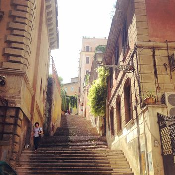 Architecture in street of Rome - image gratuit #331551