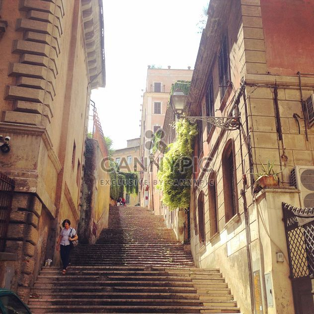 Architecture in street of Rome - Free image #331551