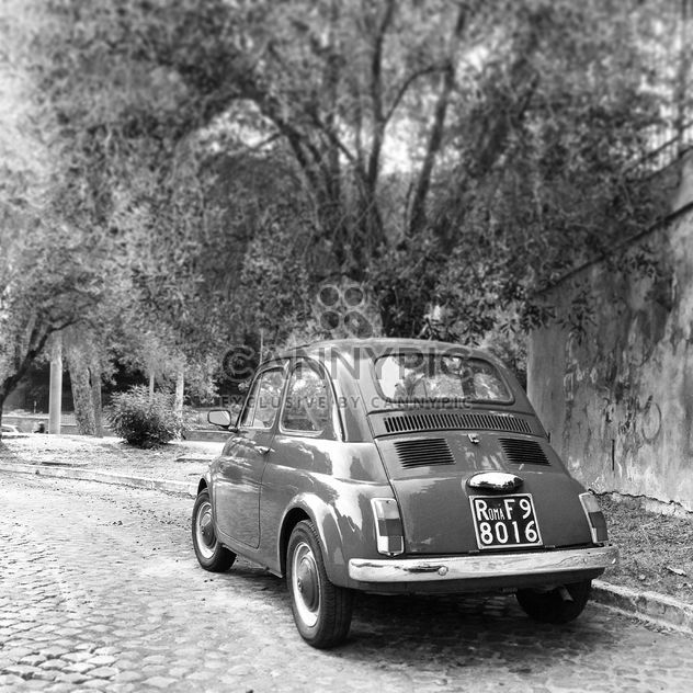 Old Fiat 500 car - Free image #331661
