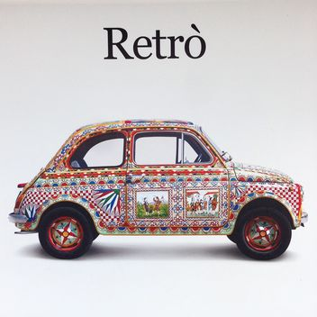 Fiat 500 retro car - image #331961 gratis