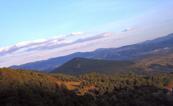 Turkey (Mudurnu) Evening at Bolu Mountains - Kostenloses image #332751