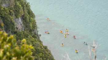 kayak and canoe competition - image gratuit #332921