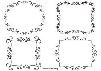 Decorative Frame Set - бесплатный vector #333021