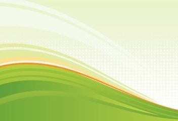 Green Waves Fresh Background - vector gratuit #333071