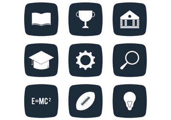 University Simple Icon - vector #333331 gratis