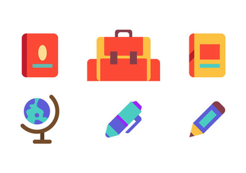 Free School Vector Icons - бесплатный vector #333971