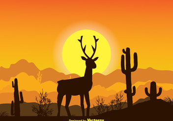 Beautiful Landscape Illustration - vector gratuit #334001