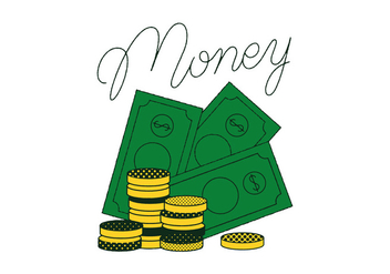 Free Money Vector - vector gratuit #334021