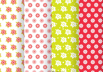Flowers Girly Pattern - vector gratuit #334041