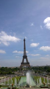 Eiffel Tower from Tracadero in Paris - бесплатный image #334231