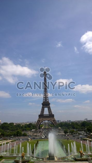 Eiffel Tower from Tracadero in Paris - Free image #334231
