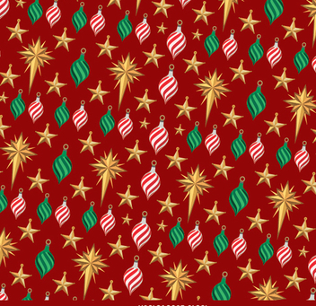 Christmas red background - Free vector #334351