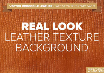 Vector Crocodile Leather Free Vector Texture Vol.3 - vector gratuit #334581