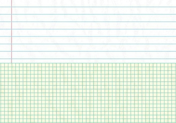 Notebook Paper Background - vector gratuit #334621
