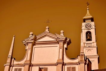 Architecture of italian church - бесплатный image #334711