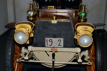 vintage cars in museum - Free image #334841
