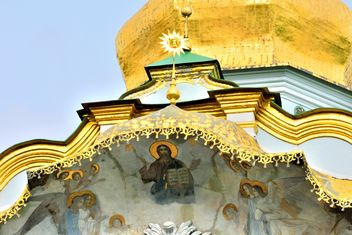 View of Assumption Cathedral in Kiev Pechersk Lavra - Free image #335091