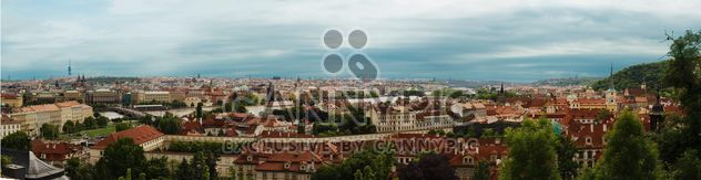 Prague from height in winter - image #335141 gratis