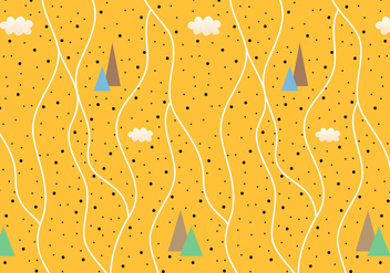 Abstract Mountain Pattern Vector - Kostenloses vector #335791