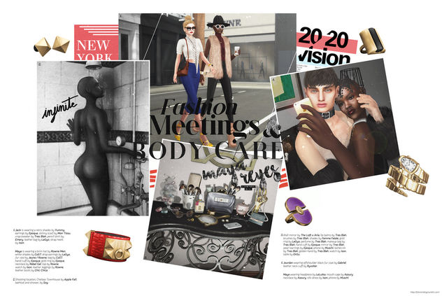 November Collage :: Fashion, Meetings, Body Care - Free image #335851