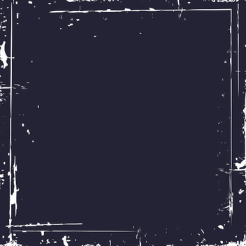 Grungy Black Square Frame Banner - Free vector #335871