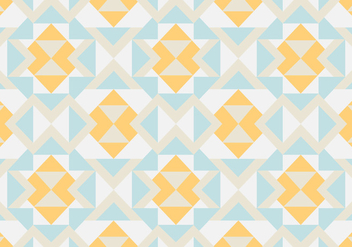Abstract pastel geometric pattern background - vector gratuit #336061