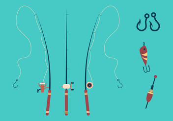 Vector Fishing Hook - vector gratuit #336071