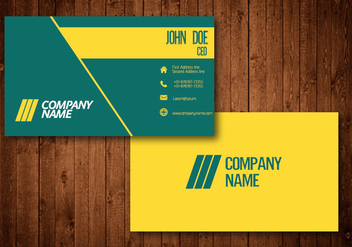 Creative Business Card - Free vector #336191