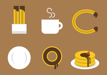 Free Churros Vector Icons #4 - бесплатный vector #336261
