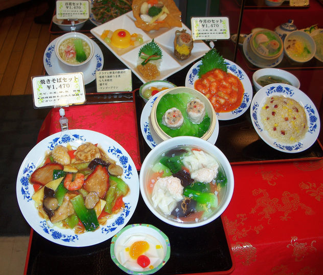 Japan (Tokyo) No need to non-japanese menu. Just look at the display plates and select meals 1 - Free image #336371