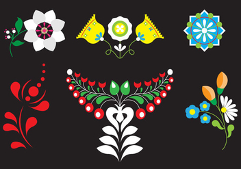 Set of Vector Embellishments - Free vector #336631