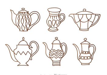Arrabic Outline icons - vector #336851 gratis