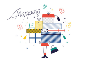 Free Shopping Vector - vector gratuit #337011