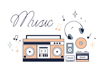 Free Music Vector - Free vector #337021