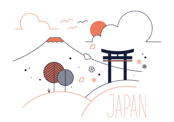 Free Japan Vector - Free vector #337031