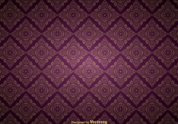 Thai pattern - vector gratuit #337171