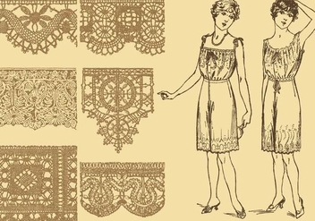 Old Style Laces - Kostenloses vector #337331