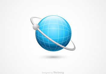 Free 3D Globe Vector Icon - Free vector #337601