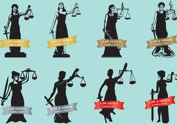 Justice Ladies - vector gratuit #338351