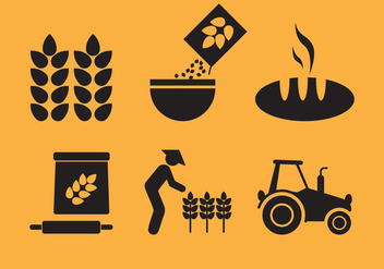 Oats Set Vector - Free vector #338801