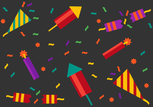 Free Party Popper Vector - Free vector #338841