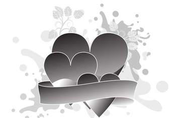 Valentines day design - vector gratuit #338961