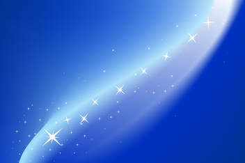 Magic blue background - vector gratuit #339031