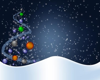 Winter background - vector #339051 gratis