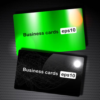 Vector Business Card - vector gratuit #339601