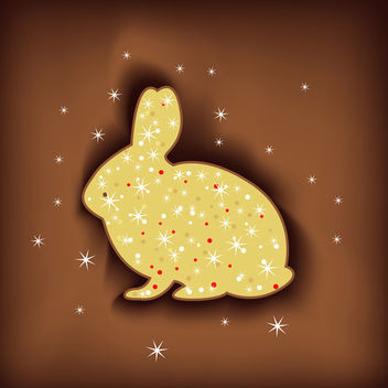 Magic easter rabbit - Free vector #339671