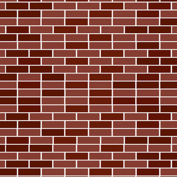 Brick Wall Background - vector gratuit #339751