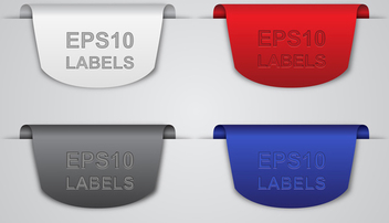 Free Vector Labels - Free vector #339791