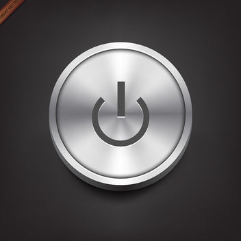 Vector Power Button - бесплатный vector #340041